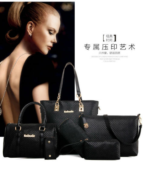 B581-(6in1) IDR.235.000 MATERIAL PU SIZE L29XH28XW13CM WEIGHT 1600GR COLOR BLACK