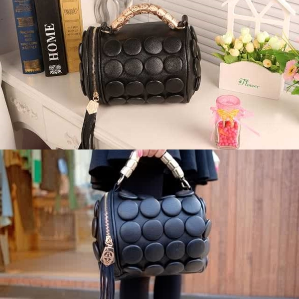 B591 IDR.162.000 MATERIAL PU SIZE L20XH18CM WEIGHT 650GR COLOR BLACKB591 IDR.162.000 MATERIAL PU SIZE L20XH18CM WEIGHT 650GR COLOR BLACK