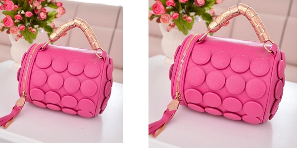B591 IDR.162.000 MATERIAL PU SIZE L20XH18CM WEIGHT 650GR COLOR ROSE