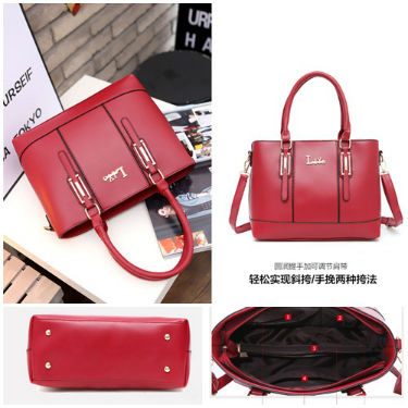 B5910 IDR.192.000 MATERIAL PU SIZE L33XH24XW14CM WEIGHT 850GR COLOR RED