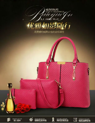 B643-(3in1) IDR.220.000 MATERIAL PU SIZE L32XH26XW13CM WEIGHT 1300GR COLOR ROSE