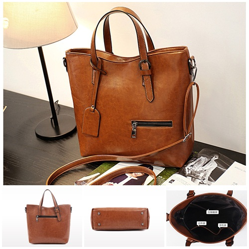 B683 IDR.195.000 MATERIAL PU SIZE L29XH30XW11CM WEIGHT 800GR COLOR BROWN