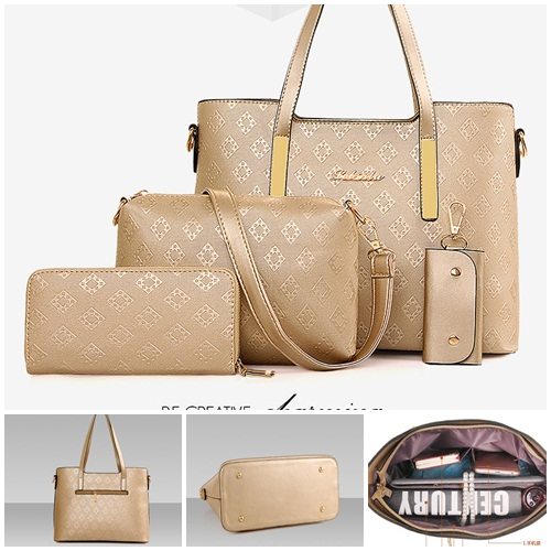 B6840-(4in1) IDR.210.000 MATERIAL PU SIZE L32XH21XW14CM WEIGHT 1300GR COLOR GOLD