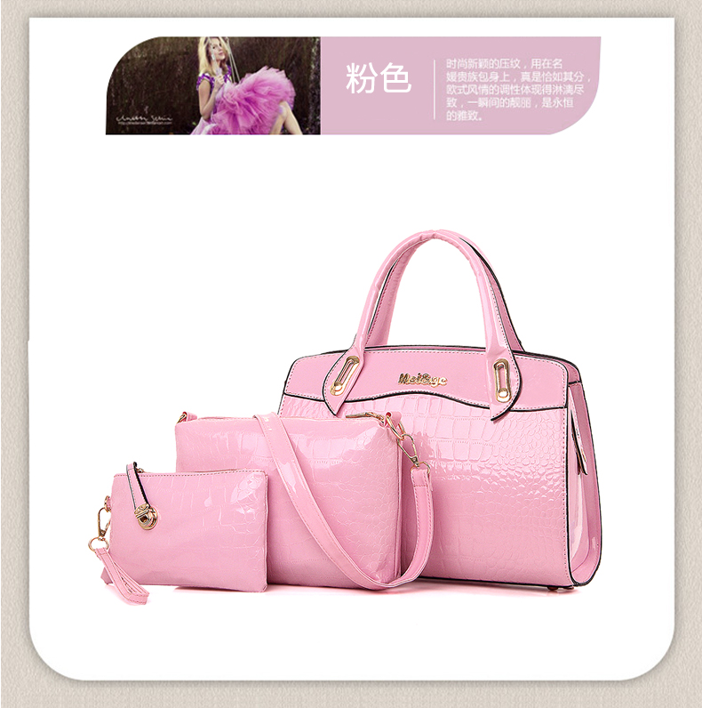 B687-(3in1) IDR.220.000 MATERIAL PU SIZE L33XH23XW12CM WEIGHT 1300GR COLOR PINK
