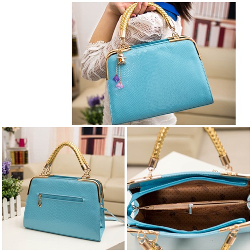 B702 IDR.158.000 MATERIAL PU SIZE L30XH25XW10CM WEIGHT 800GR COLOR BLUE