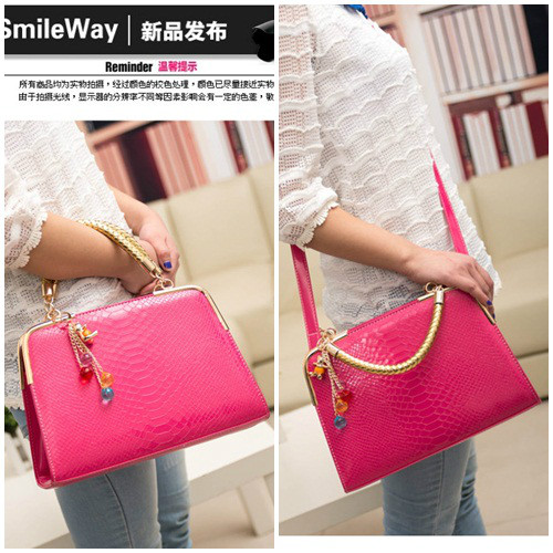 B702 IDR.158.000 MATERIAL PU SIZE L30XH25XW10CM WEIGHT 800GR COLOR ROSE