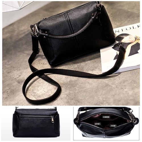 B7050 IDR.170.000 MATERIAL PU SIZE L25XH18XW13CM WEIGHT 700GR COLOR BLACK