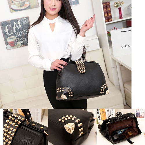 B722 IDR.183.000 MATERIAL PU SIZE L36XH26XW15CM-(INC-STRAP) WEIGHT 900GR COLOR BLACK