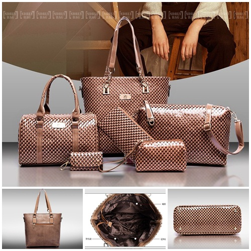 B7779-(6in1) IDR.225.000 MATERIAL PU SIZE L30XH29XW21CM WEIGHT 1400GR COLOR BROWN