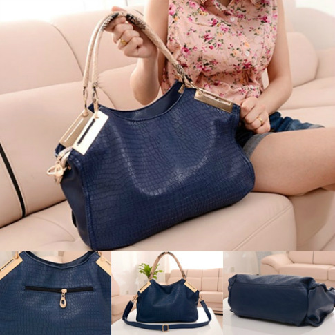 B794 IDR.195.000 MATERIAL PU SIZE L28XH28XW11CM WEIGHT 1000GR COLOR DARKBLUE