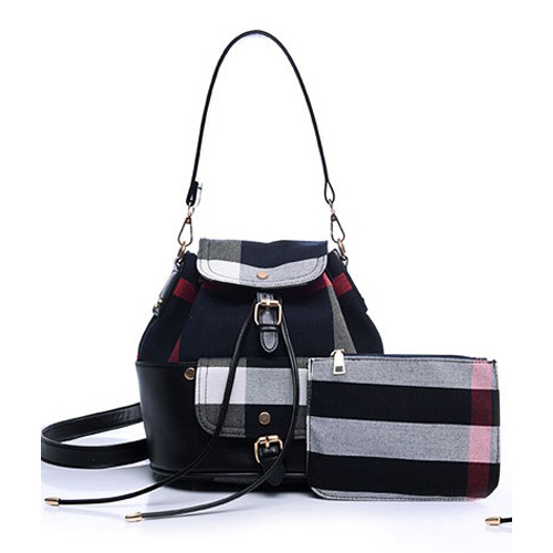 B797-(2in1) IDR.205.000 MATERIAL CANVAS SIZE L25XH27XW10CM WEIGHT 650GR COLOR BLACK