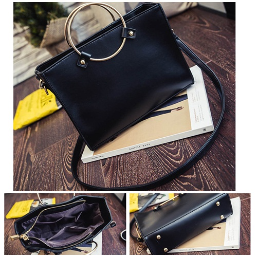 B8060 IDR.162.000 MATERIAL PU SIZE L26XH20XW8CM WEIGHT 600GR COLOR BLACK