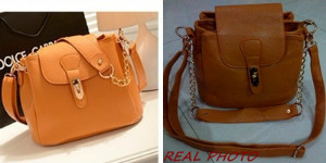 B8169 IDR.182.000 MATERIAL PU SIZE L25XH21X17CM, HAND STRAP 17CM WEIGHT 750GR COLOR BROWN