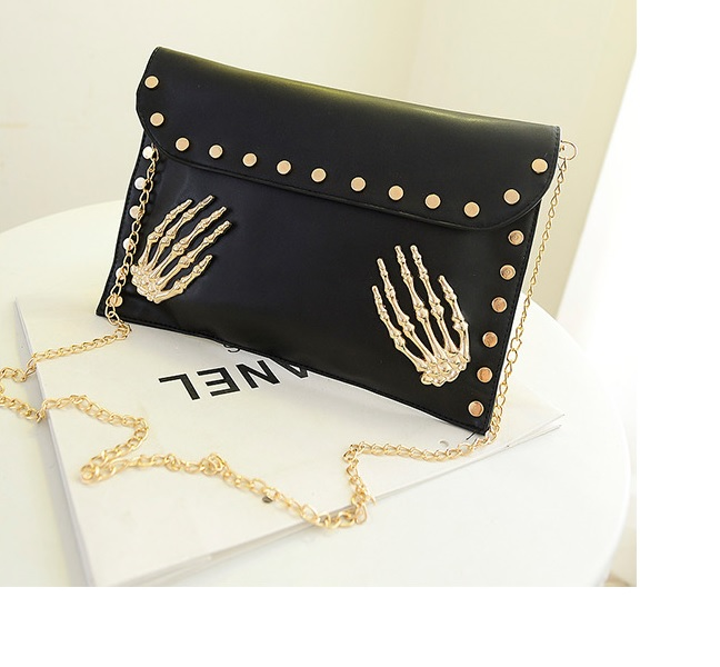 B819 IDR.142.000 MATERIAL PU SIZE L30XH22XW2CM WEIGHT 500GR COLOR BLACK