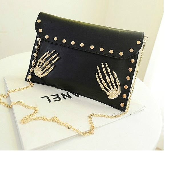 B819 IDR.149.000 MATERIAL PU SIZE L30XH22XW2CM WEIGHT 500GR COLOR BLACK