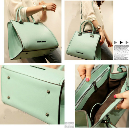 B8227 IDR.211.000 MATERIAL PU SIZE L31XH26XW14CM WEIGHT 910GR COLOR GREEN