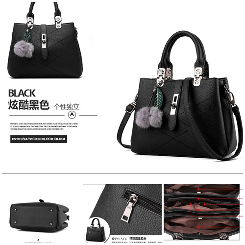 B8250 IDR.196.000 MATERIAL PU SIZE L29XH21XW13CM WEIGHT 800GR COLOR BLACK