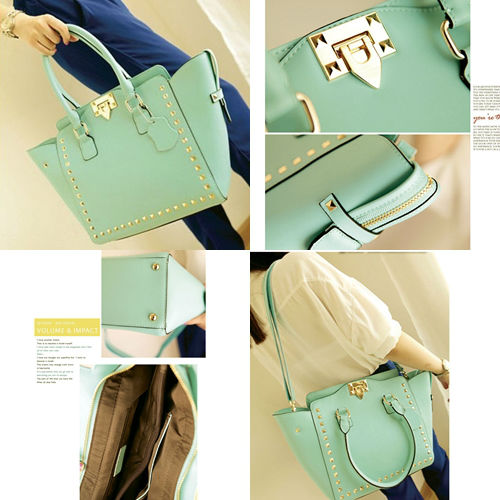 B8270 IDR.208.000 MATERIAL PU SZE L35XH26XW11CM, STRAP 125CM WEIGHT 890GR COLOR GREEN
