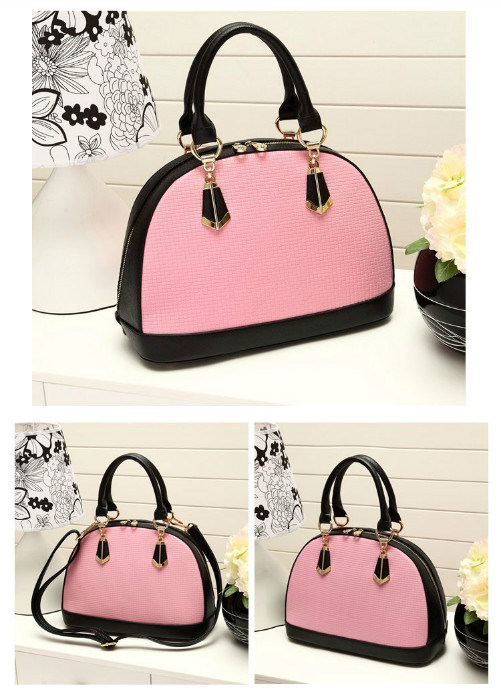 B8292 IDR.210.000 MATERIAL PU SIZE L25XH22XW14CM WEIGHT 710GR COLOR PINK