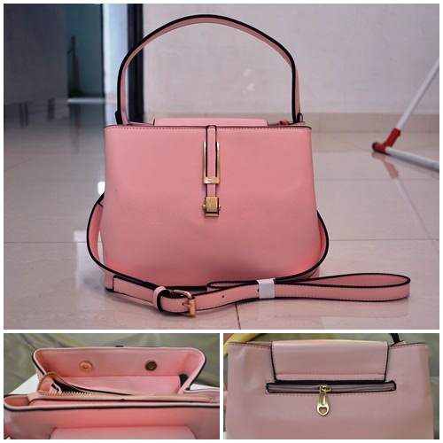 B830 IDR.215.000 MATERIAL PU SIZE L26XH20XW14CM WEIGHT 700GR COLOR PINK