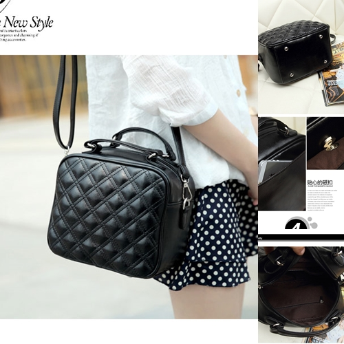 B8335 IDR.145.000 MATERIAL PU SIZE L23XH29XW13CM WEIGHT 600GR COLOR BLACK