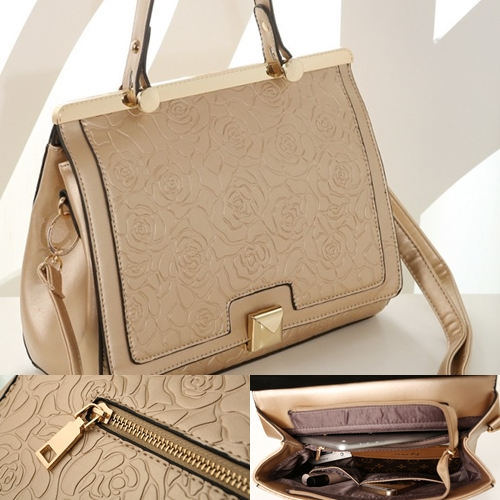 B8375 IDR.235.000 MATERIAL PU SIZE L29XH24XW10CM WEIGHT 850GR COLOR GOLD
