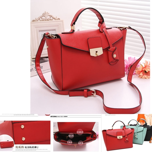 B8392 IDR.214.000 MATERIAL PU SIZE L 37XH20XW11CM WEIGHT 800GR COLOR RED