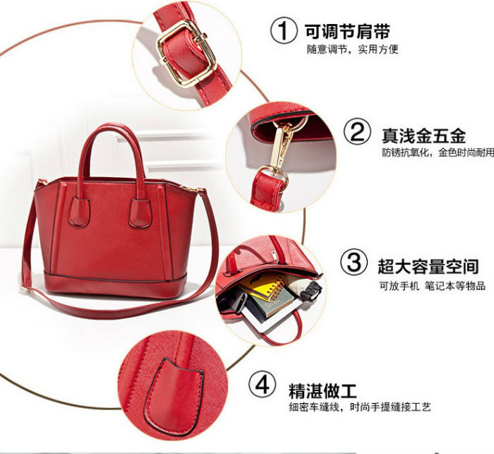 B8394 IDR.200.000 MATERIAL PU SIZE L37XH24XW13CM WEIGHT 850GR COLOR RED