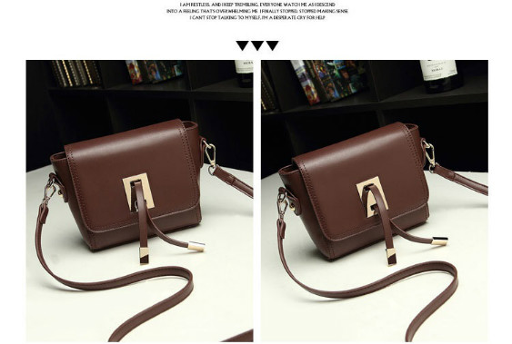 B8413 IDR.159.000 MATERIAL PU SIZE L20XH13XW6CM WEIGHT 500GR COLOR COFFEE