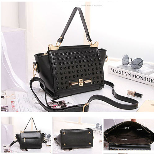 B8426 IDR.215.000 MATERIAL PU SIZE ;23XH19XW11CM WEIGHT 700GR COLOR BLACK