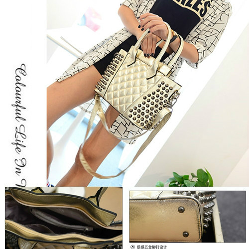 B843 IDR.197.000 MATERIAL PU SIZE L25XH22XW11CM WEIGHT 700GR COLOR GOLD