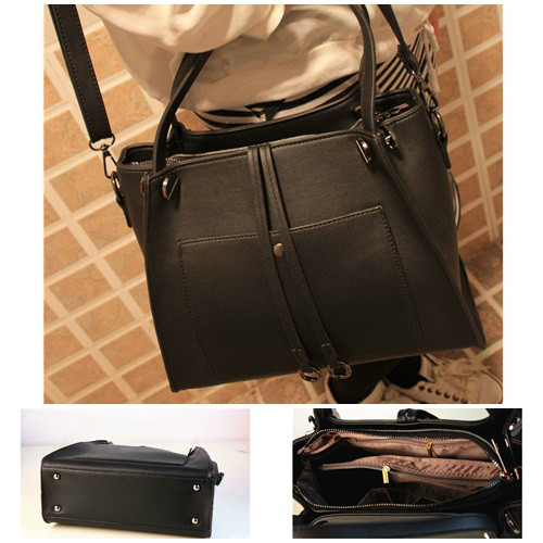 B8430 IDR.218.000 MATERIAL PU SIZE L29XH22XW12CM WEIGHT 950GR COLOR BLACK