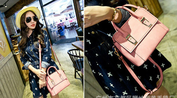 B8431 IDR.205.000 MATERIAL PU SIZE L23XH18XW11CM WEIGHT 720GR COLOR PINK