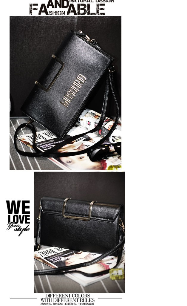 B8433 IDR.172.000 MATERIAL PU SIZE L28XH15XW2CM WEIGHT 700GR COLOR BLACK