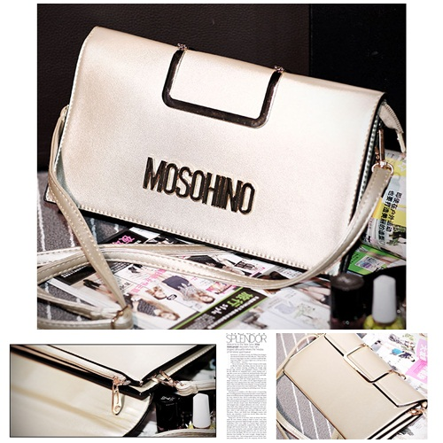 B8433 IDR.172.000 MATERIAL PU SIZE L28XH15XW2CM WEIGHT 700GR COLOR GOLD