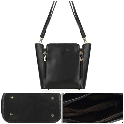 B8443 IDR.165.000 MATERIAL PU SIZE L30XH23XW12CM WEIGHT 730GR COLOR BLACK
