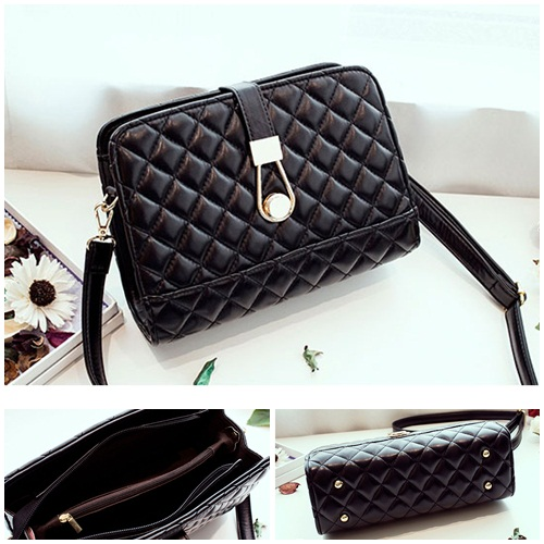 B8501 IDR.163.000 MATERIAL PU SIZE L24XH18XW9CM WEIGHT 600GR COLOR BLACK