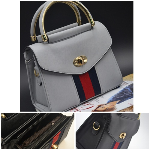 B8511 IDR.162.000 MATERIAL PU SIZE L19XH15XW9CM WEIGHT 600GR COLOR GRAY