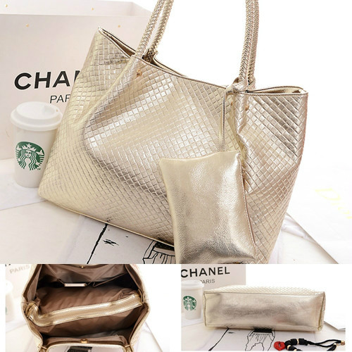 B876 (2IN1)IDR.189.000 MATERIAL PU SIZE L39XH31XW14CM WEIGHT 750GR COLOR GOLD