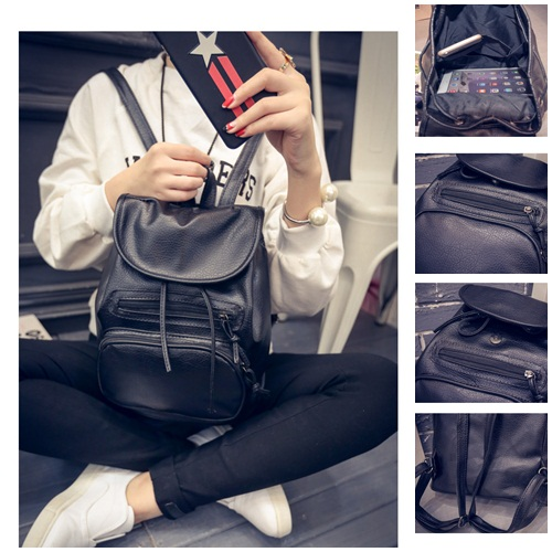 B8871 IDR.137.000 MATERIAL PU SIZE L28XH30XW15CM WEIGHT 500GR COLOR ASPHOTO