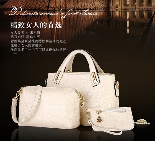 B888-(3in1) IDR.178.000 MATERIAL PU SIZE BIG-L32XH21XW12CM-MEDIUM-L20XH15XW7CM-SMALL-L16XH11CM WEIGHT 1300GR COLOR BEIGE