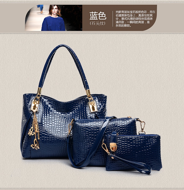 B88991-(3in1) IDR.210.000 MATERIAL PU SIZE L33XH22XW12CM WEIGHT 900GR COLOR BLUE