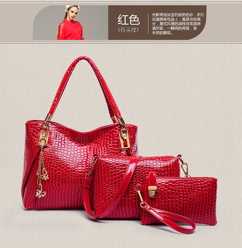 B88991-(3in1) IDR.210.000 MATERIAL PU SIZE L33XH22XW12CM WEIGHT 900GR COLOR RED
