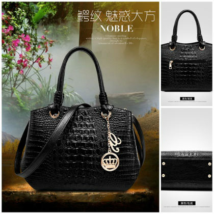 B8919 IDR.216.000 MATERIAL PU SIZE L33XH24XW16CM WEIGHT 850GR COLOR BLACK