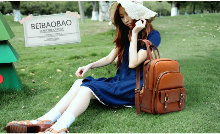 B9102 IDR.189.000 MATERIAL PU SIZE L24XH33XW10CM WEIGHT 800GR COLOR BROWN
