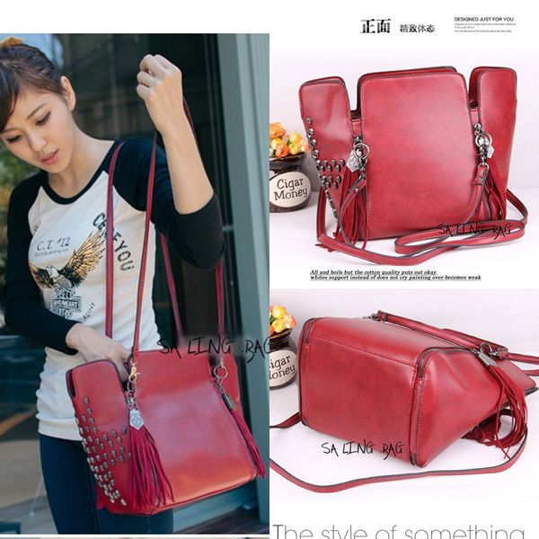 B9104 IDR.182.000 MATERIAL PU SIZE L31XH24XW15CM WEIGHT 800GR WARNA RED