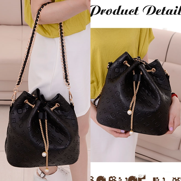 B9224 IDR.168.000 MATERIAL PU SIZE L28XH29XW14CM WEIGHT 650GR COLOR BLACK