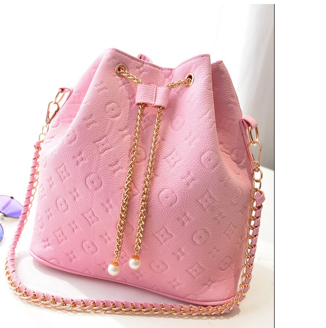 B9224 IDR.168.000 MATERIAL PU SIZE L28XH29XW14CM WEIGHT 650GR COLOR PINK
