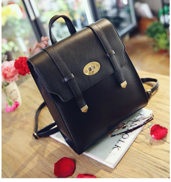 B94820 IDR.165.000 MATERIAL PU SIZE L25XH30XW10CM WEIGHT 750GR COLOR BLACK