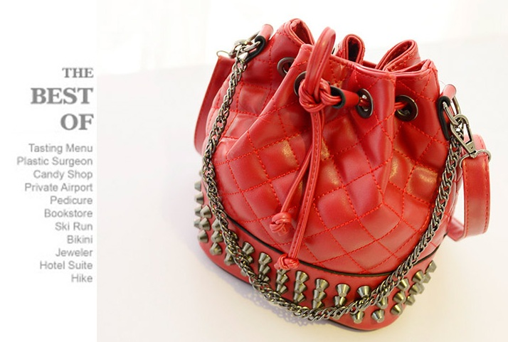 B969 IDR.178.000 MATERIAL PU SIZE L21XH25XW15CM WEIGHT 600GR COLOR RED